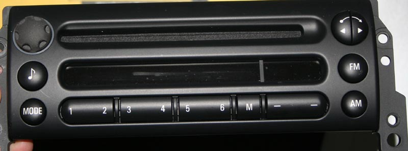 Cosninix Projects How To Add An Aux Input A Mini Cooper Or Bmw Car Stereo Radio